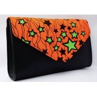 orange_star_african_print_clutch_bag_1