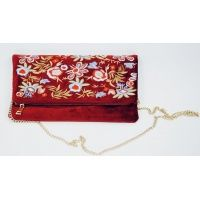 red_velet_fabric_clutch_bag_1