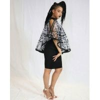 ohemaa_ankara_print_laced_cape_highlow_-_black_and_white