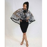 ohemaa_ankara_print_laced_cape_highlow_-_black_and_white_2