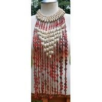 recycled_rubber_mixed_genuine_cowry_shell_and_glass_beads_statement_necklace