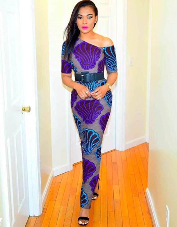 0b297dd2c86d8 African Print Pencil Dress-Off Shoulder Dress -Ankara- Smart Dress- Ankara  Print -African Dress -Handmade - Africa Clothing -African Fashion  0 US  Women s