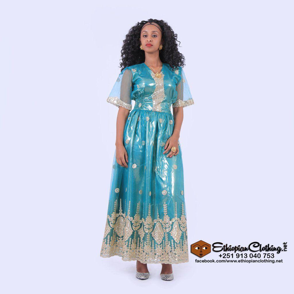 Sofi Eritrean Chiffon Dress Mahiber 2020